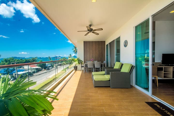 Sea View Apartment (2 BR) by Krabi Villa Company