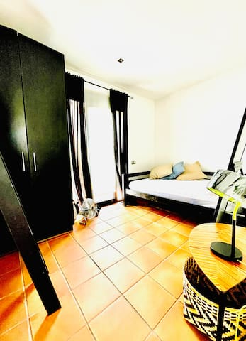 Master Double bedroom with exit to the front terrace.