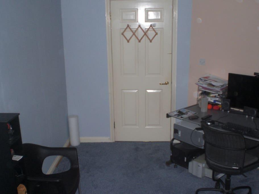 Door, Chair Desk in Bedroom 2