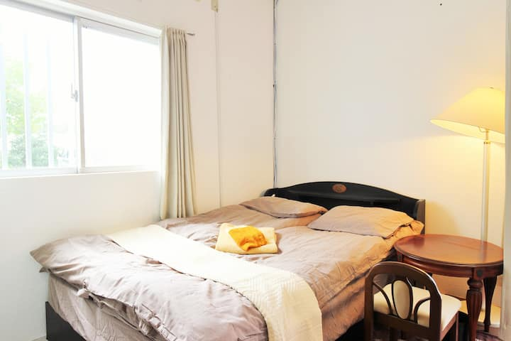 Room5★Free Parking◎WIFI★Luggage storage