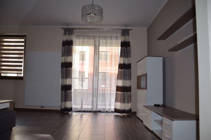 Nowe przytulne mieszkanie z garażem Kraków