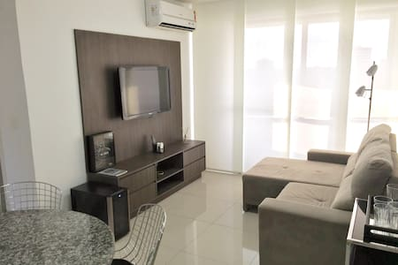 Flat novo -  The Residence Tower, área nobre - Teresina - Apartment-Hotel