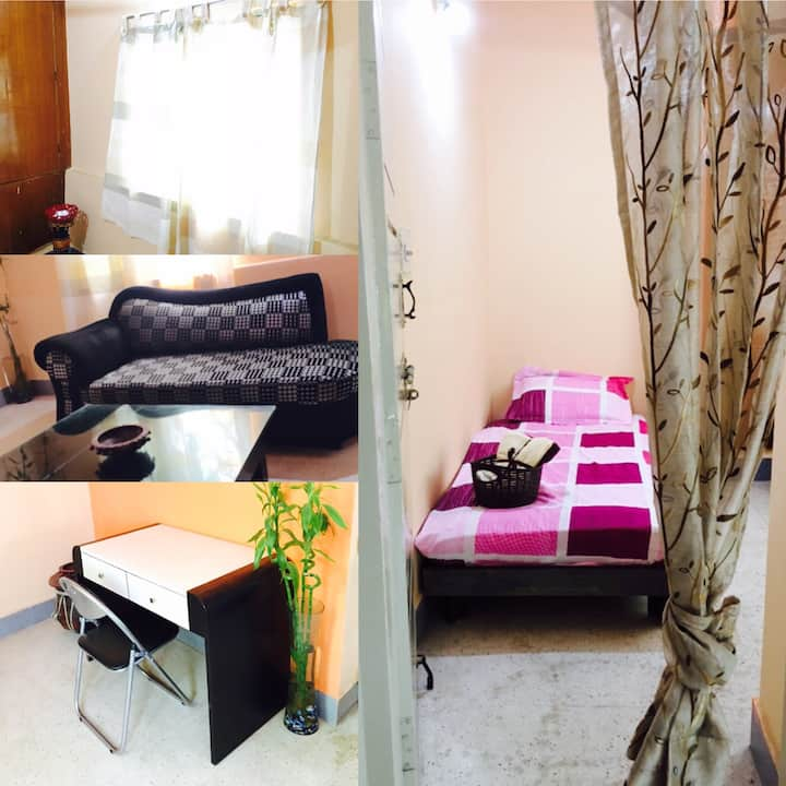Cozy Homely Single Bed-AllAmenities