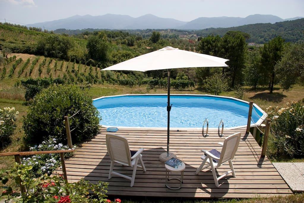Il bambu con piscina privata case in affitto a lucca - B b con piscina toscana ...
