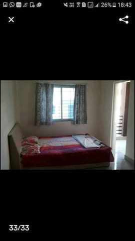 one bedroom apartment with 2balconies - Panchgani - Apartment