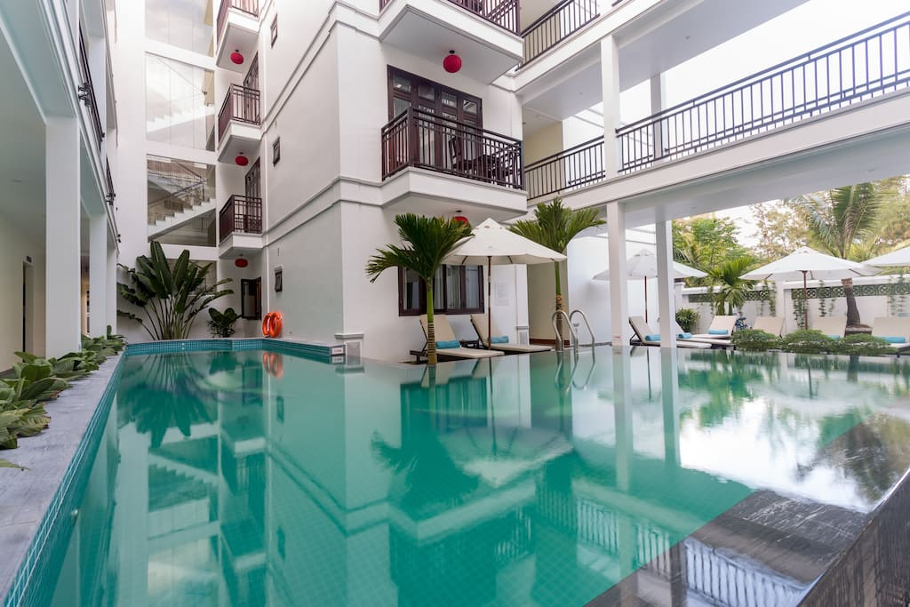 Swimming Pool - Pearl River Hoi An Hotel & Spa