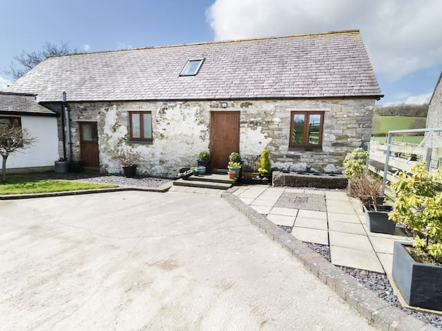 TYDDYN ISA, family friendly, with open fire in Denbigh, Ref 975359