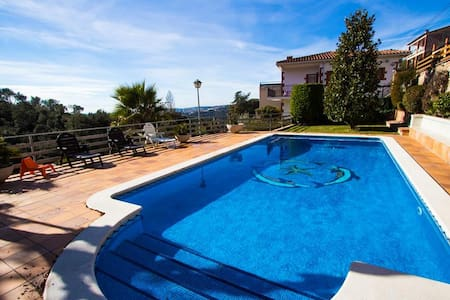 Villa Ametlla in the Barcelona countryside, only 35km to the city and beach! - Barcelona Region - 別墅
