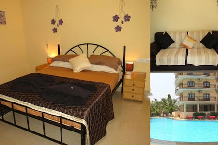 01) 1 Bed Close to Baga Beach - Appartement