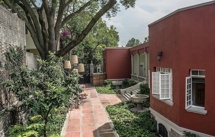 Casa Moctezuma Coyoacan, Colonia El Carmen - Città del Messico - Loft