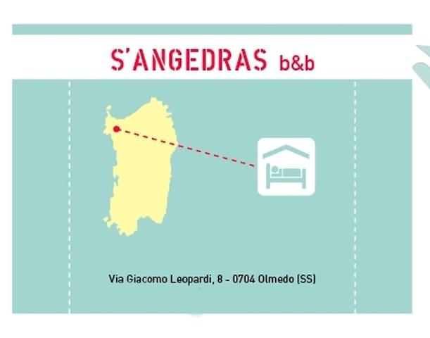 Alghero, accogliente B&B a 10km dal mare