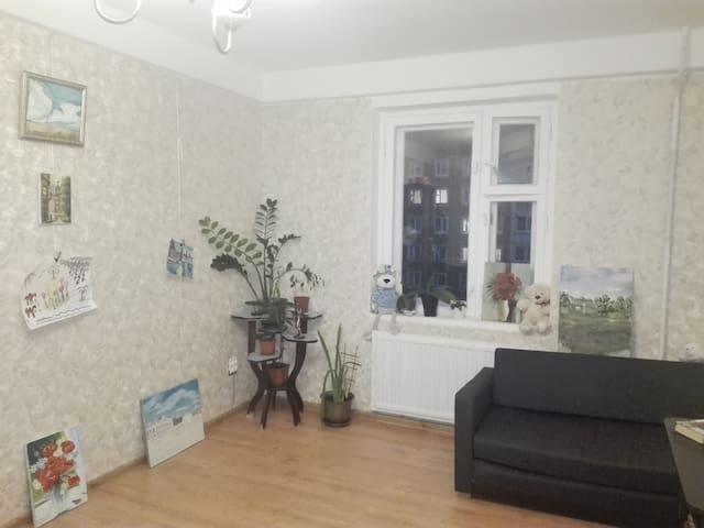 Хорошая квартира на окраине города - Sankt-Peterburg - Pis