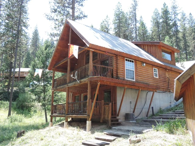 Clean&Cozy: Log Cabin in Garden Valley/Crouch Id.