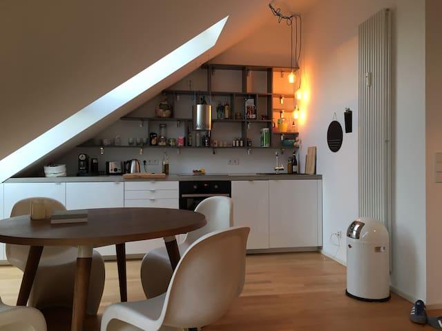 Sonnige Maisonette Wohnung im Zentrum - Mainz - Pis