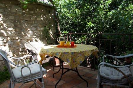 Maison de village avec jardin - Montpezat