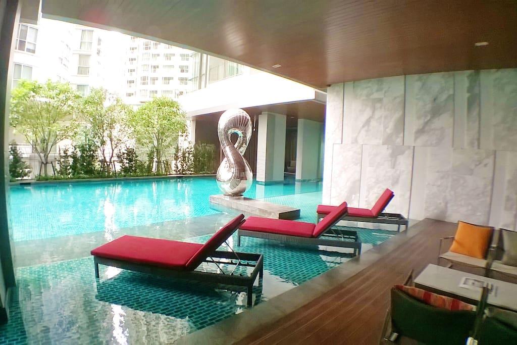 Luxury Salted Ozone Swimming Pool