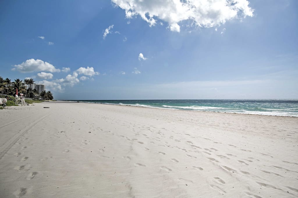 Boasting a beachfront location, this property is only steps from the sand.