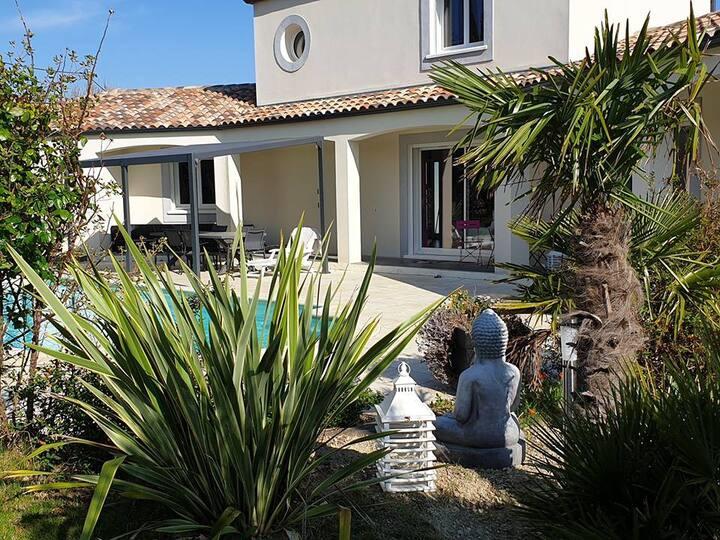Magnifique villa , espace , bien être
