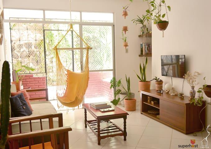 a casinha: quarto no Rio Vermelho - Salvador, BA