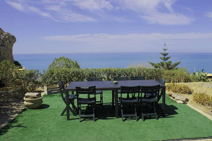 La terrazza sul mare OFFERTA SETTEMBRE - licata - Dům