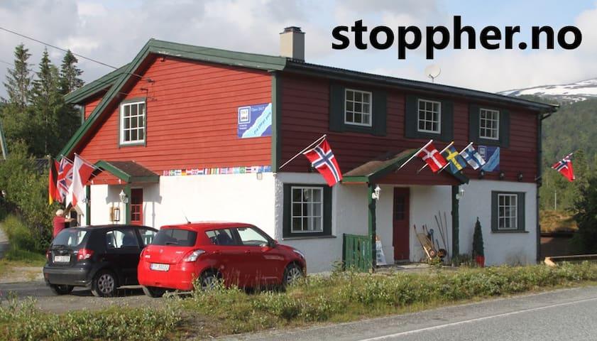 stoppherbnb Kvamskogen rom 203 - Norheimsund - House
