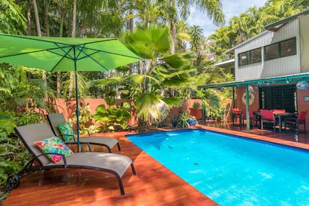 Unique, Private, Secluded, Tropical Delight. - Nightcliff - บ้าน
