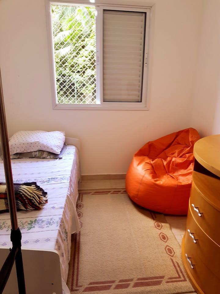 Dormitório/banheiro privativos