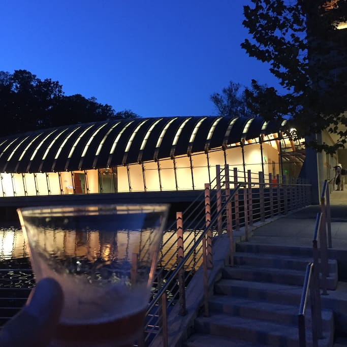 Crystal Bridges is a short drive away!