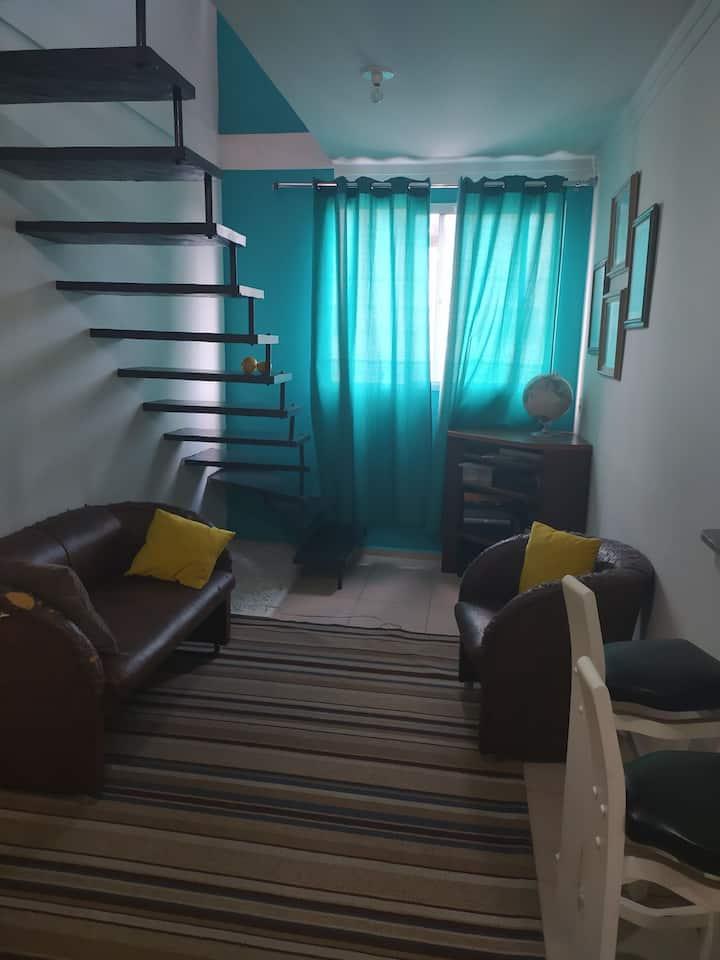 Quarto em apartamento na Zona Norte de Joinville