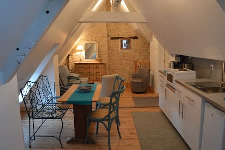 Cosy studio apartment in historic Vezelay - Vézelay - Huoneisto