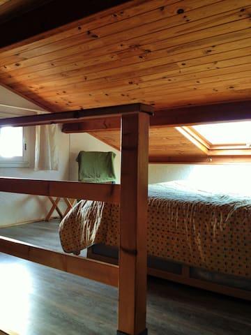 Chambre sous toit