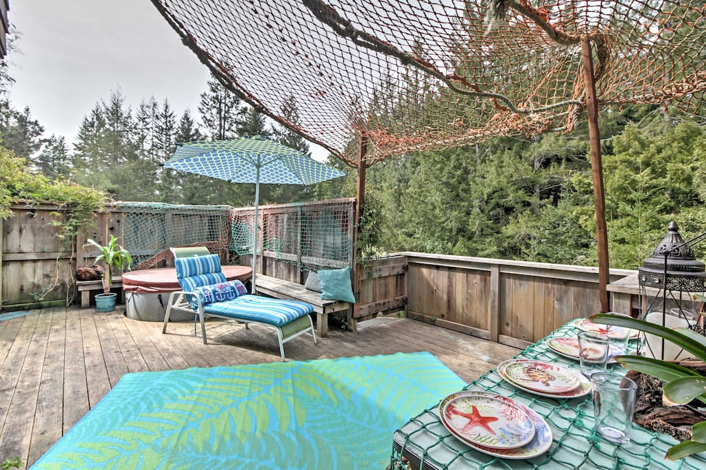 Enjoy a fun-filled stay at this unique 1-bed + loft vacation rental cottage!