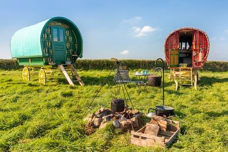 Calon Gypsy Wagons - Carmarthenshire