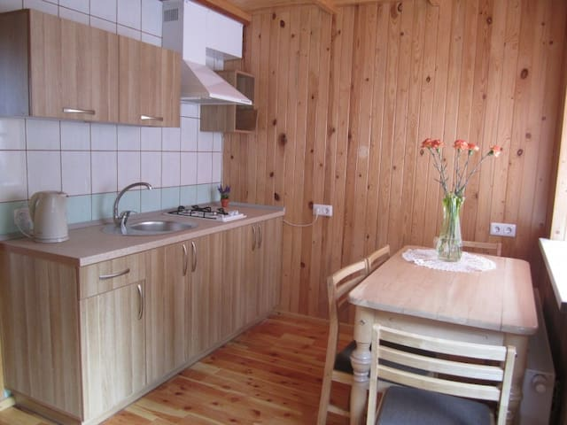 Cosy two-story room for 4-6 persons in Šventoji