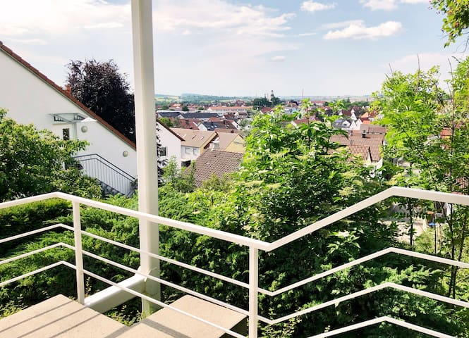 ☆ Zentrales Appartement mit traumhaftem Panorama ☆