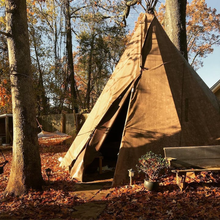 Charming Tepee at Arabia Mountain Farm