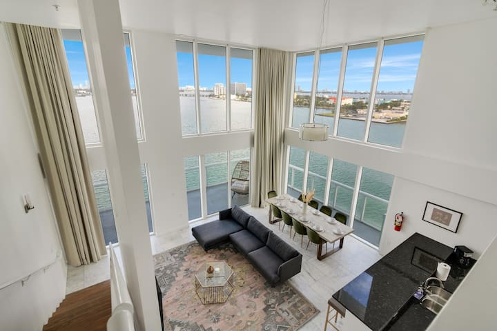 Harbor Island Penthouse14--10 minutes from Brickell, 10 minutes to South Beach