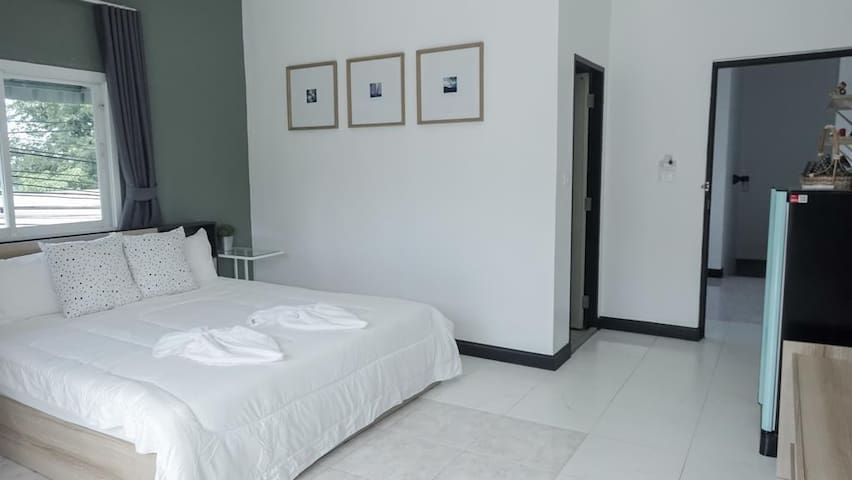 Private room with Balcony near Nai Harn & Rawai Beach