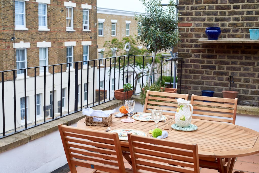 My beautiful property has everything you need; an incredible roof terrace...