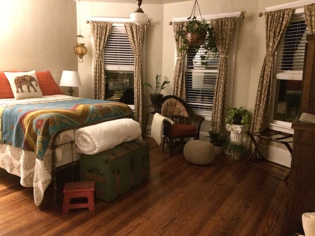 Guest Room in Downtown Harrisonburg - Harrisonburg - Huis