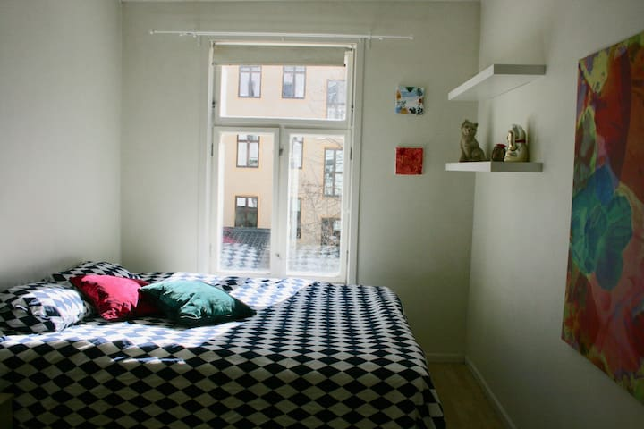 Huset Hostel Oslo. Big Room 1.