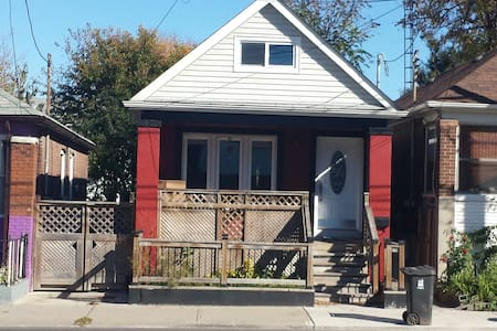 Renovated house with great location.  Easy access to Woodbine subway
