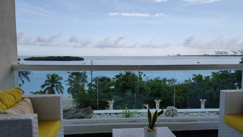 Beach Front Apartment, C 303 - Boca Chica - Appartement