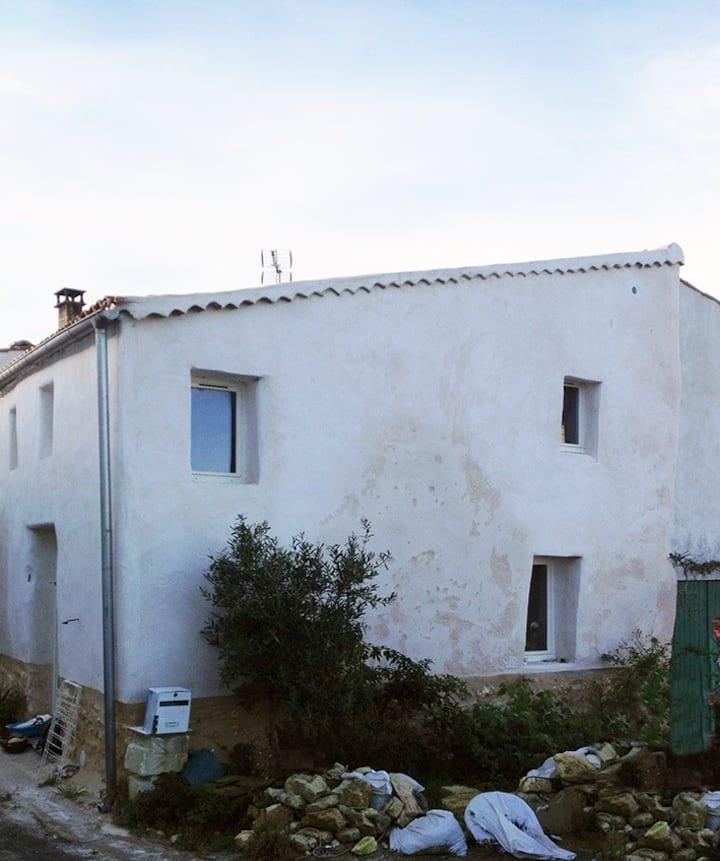 petite maison biosourcée à Oléron près de l'Océan.