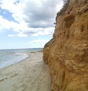 Agréable  et luxueux logement vue mer à 100m plage