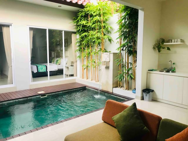 Long Stay Promo:  2 Bedroom Villa  Pool in Canggu
