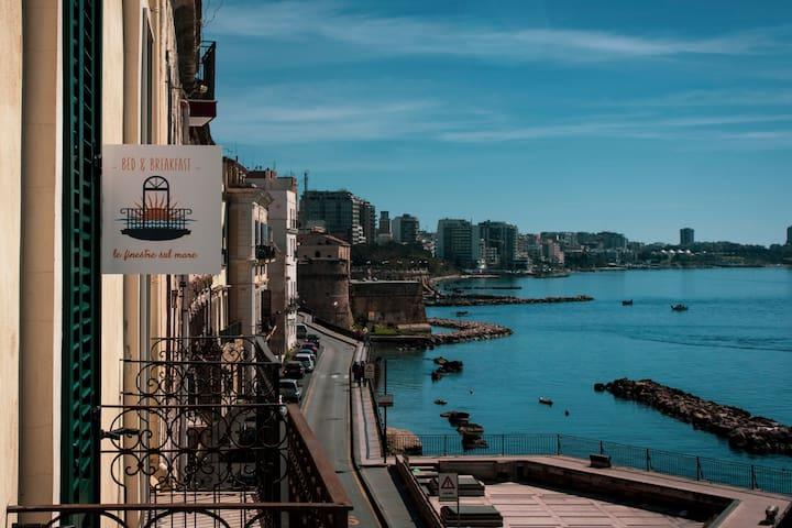 """Camera """"San Paolo"""" - B&B Le finestre sul mare"""