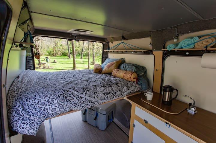 Adventure Camper Van + 150 Free Miles/day