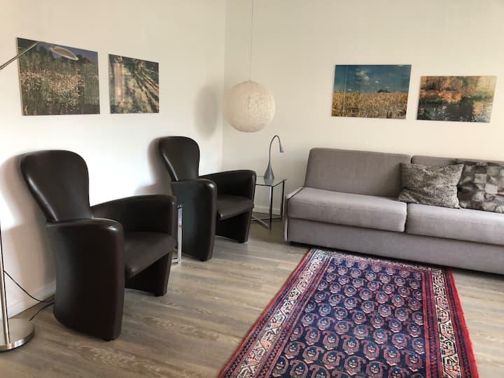 Quiet souterrain apartment, 45m²