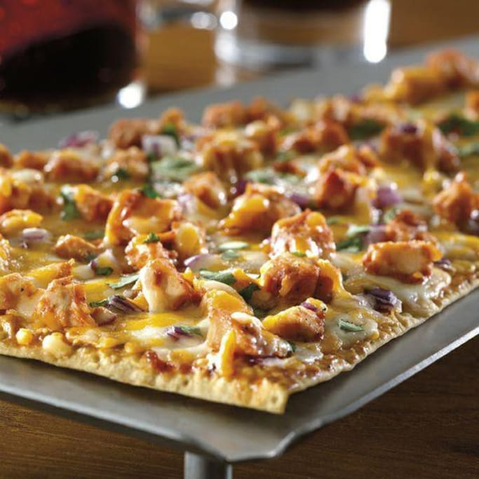 Our delicious flatbread pizza is a guest favorite.